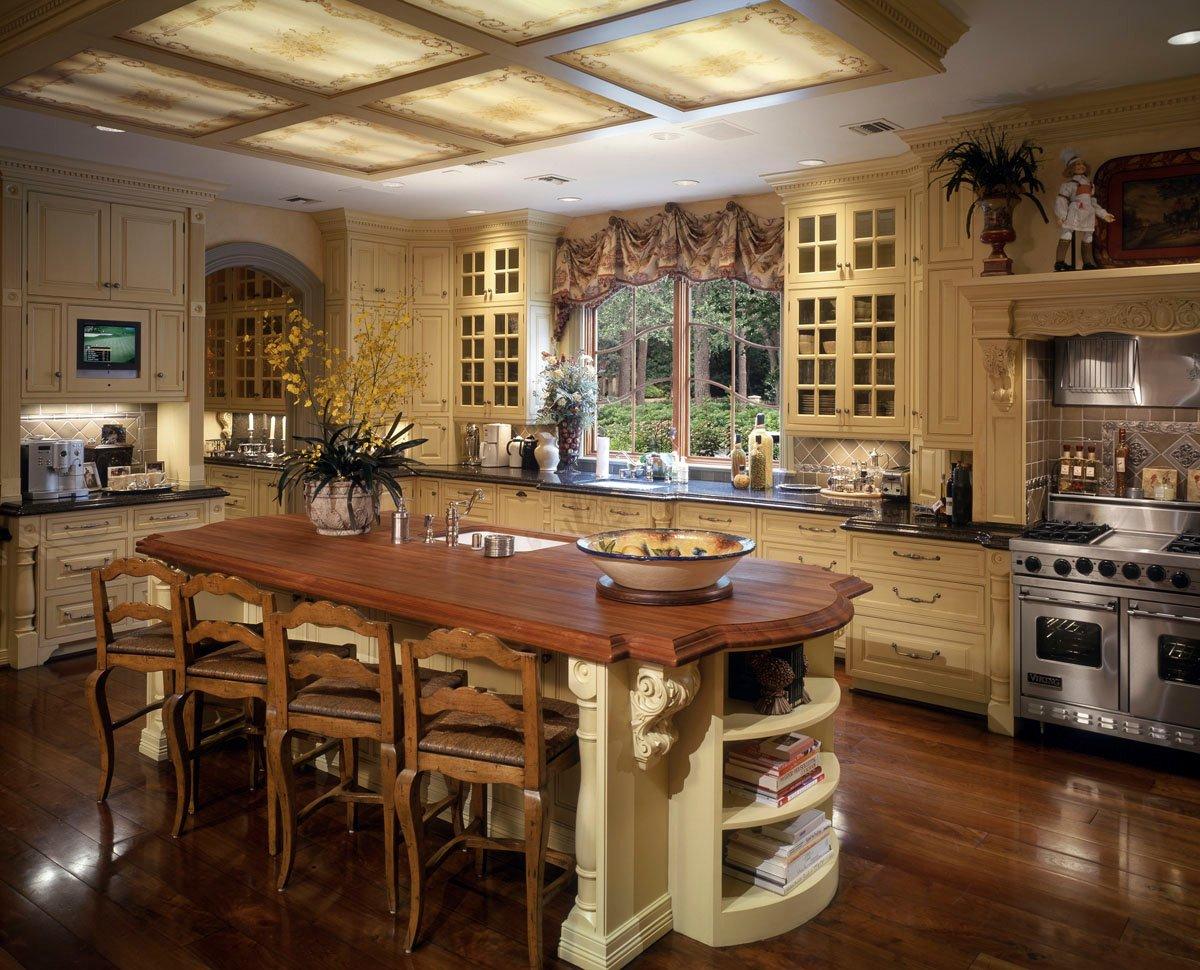 french chateau kitchen