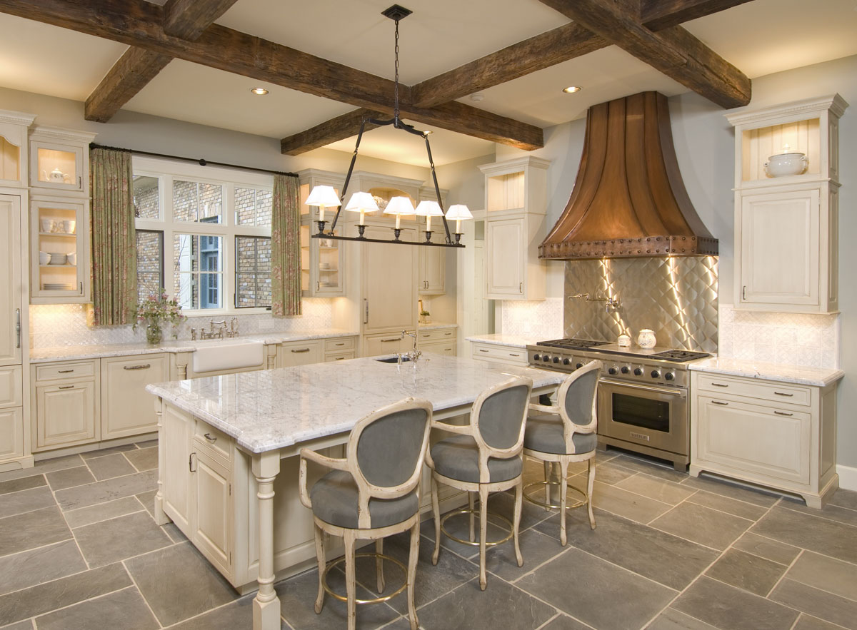 french normandy kitchen design