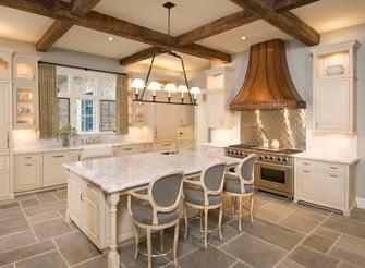 french normandy kitchen design