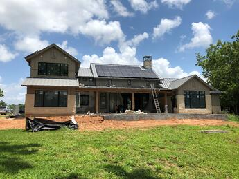 LEED solar panels