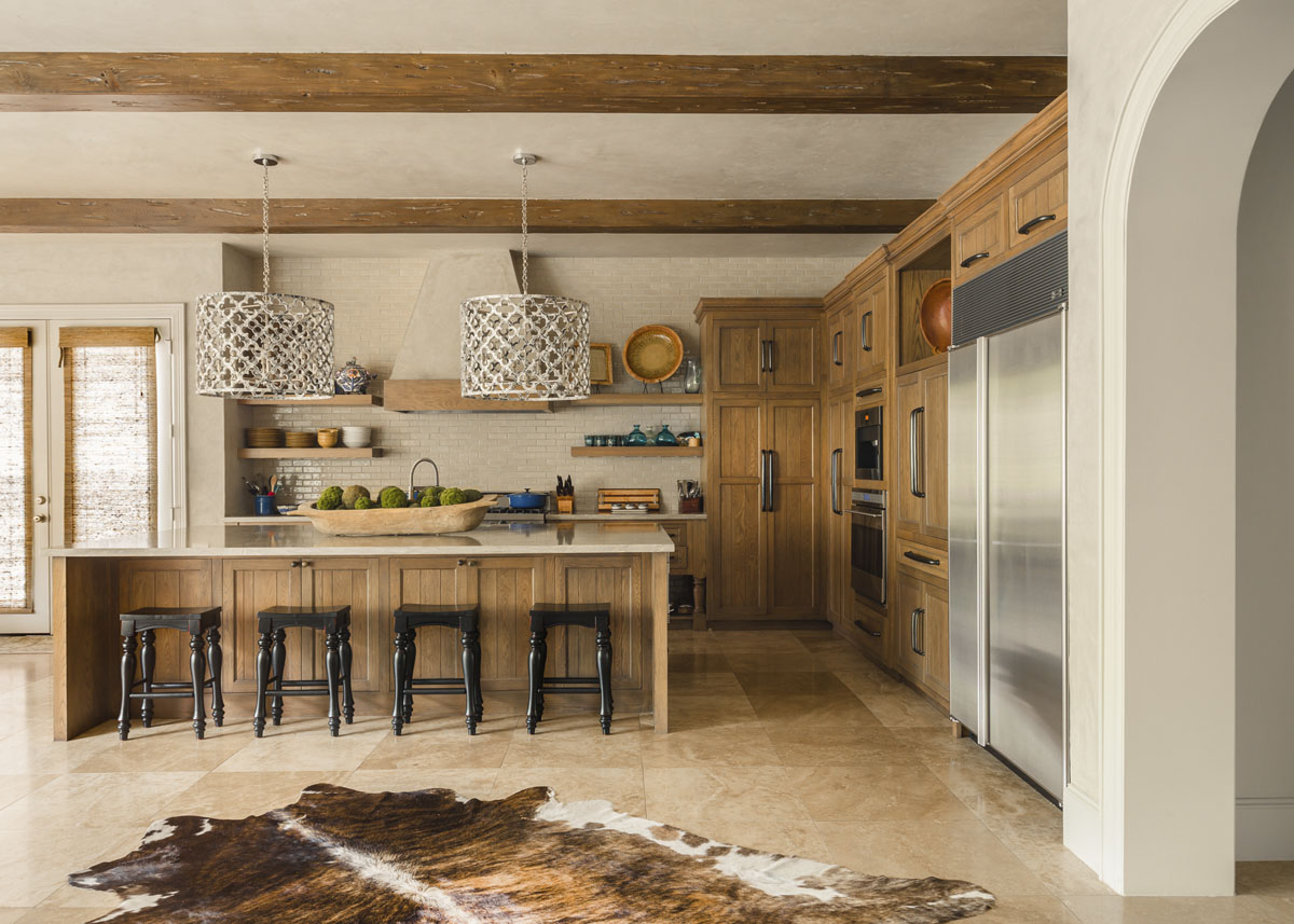 custom tudor style kitchen