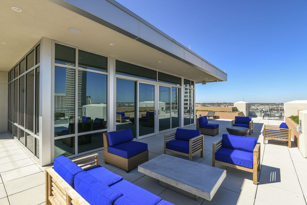 custom condo rooftop patio
