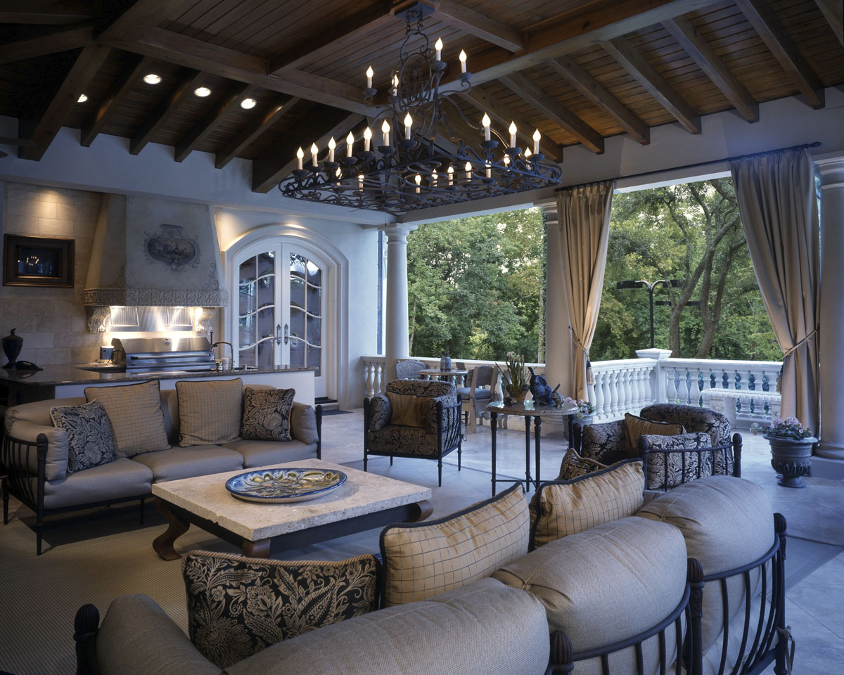 french chateau outdoor pavillion