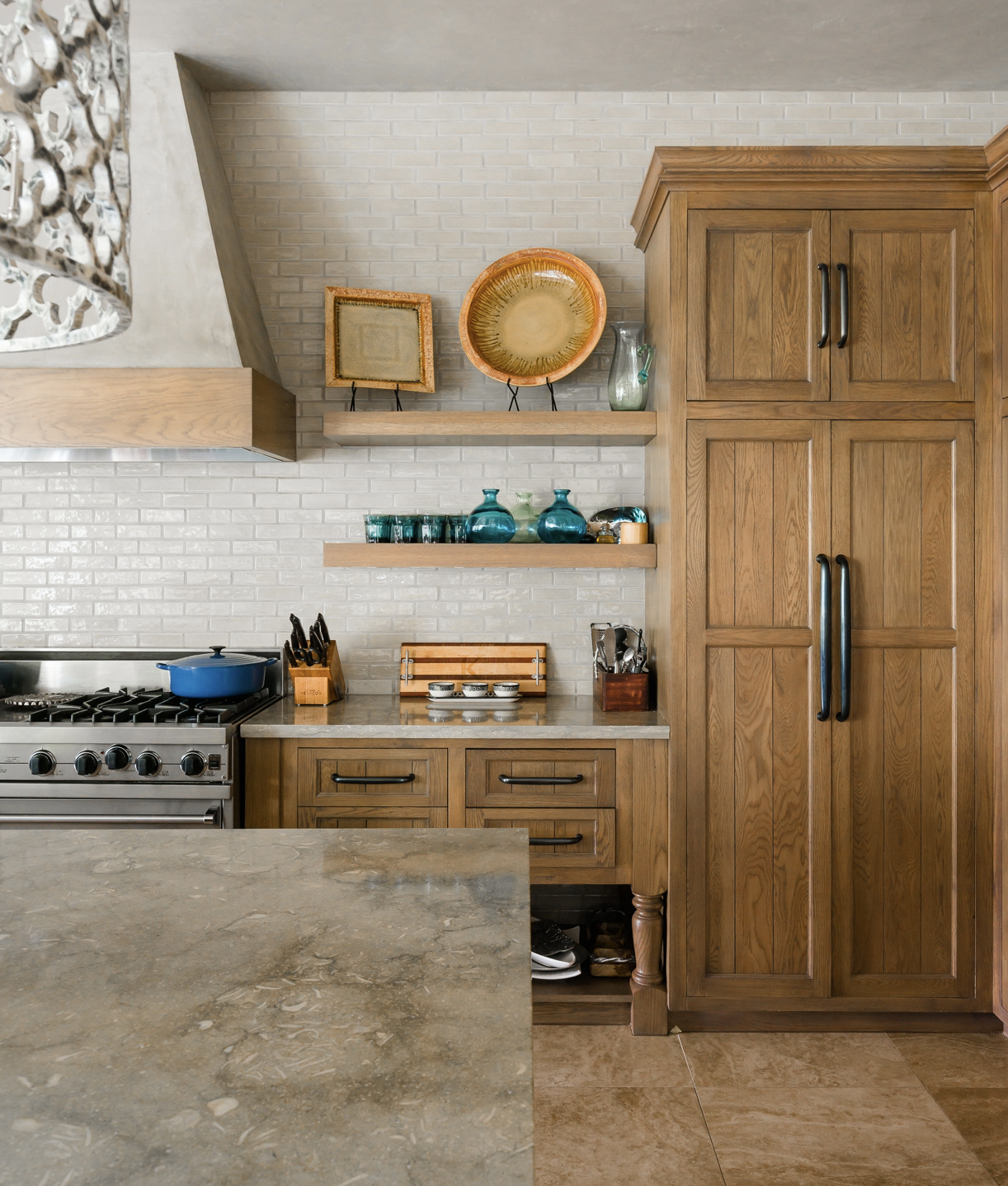 stain-grain wood cabinetry