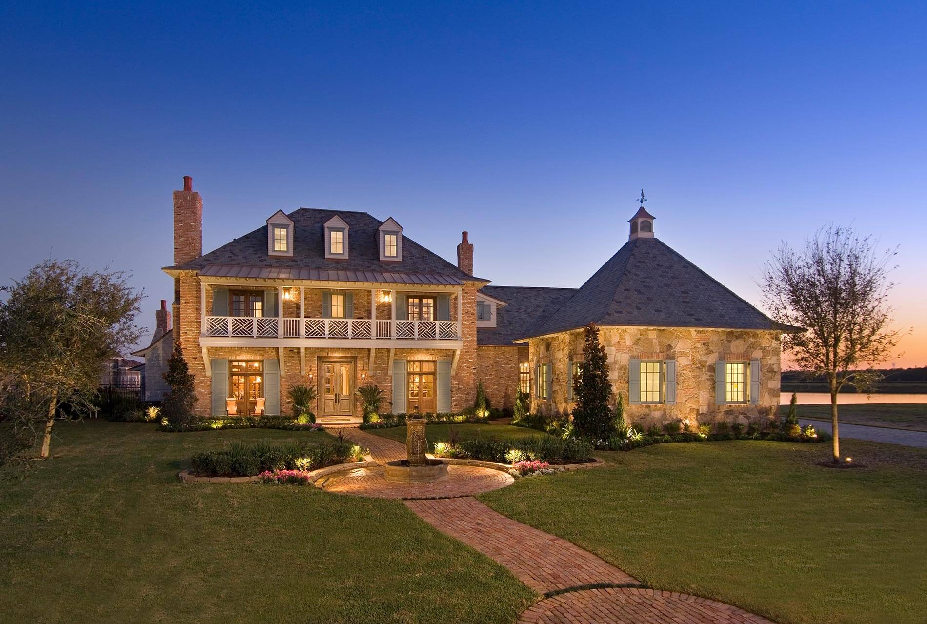 Louisiana Acadian luxury Home
