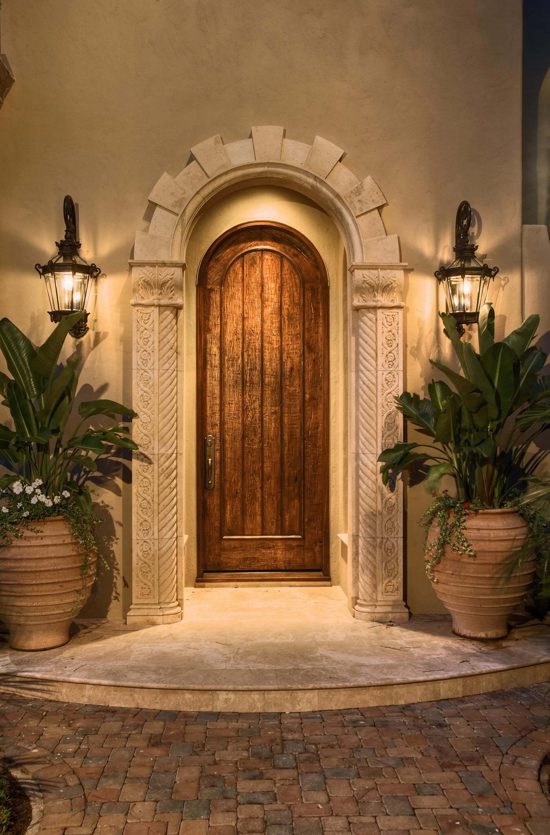 spanish colonial front door