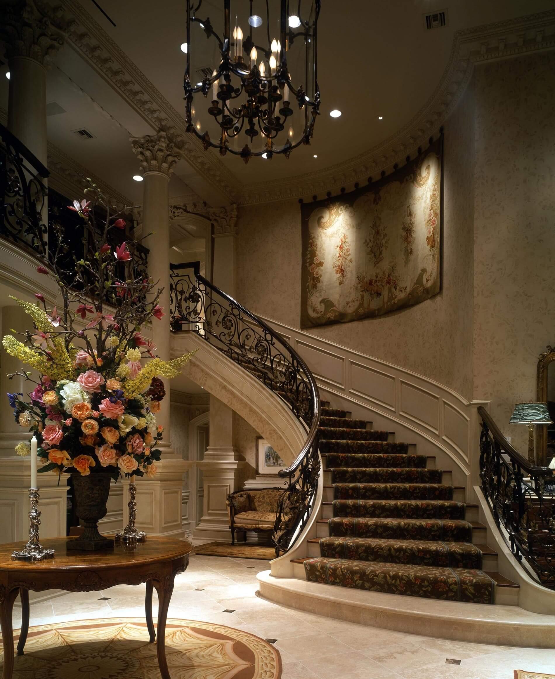 Foyer french chateau
