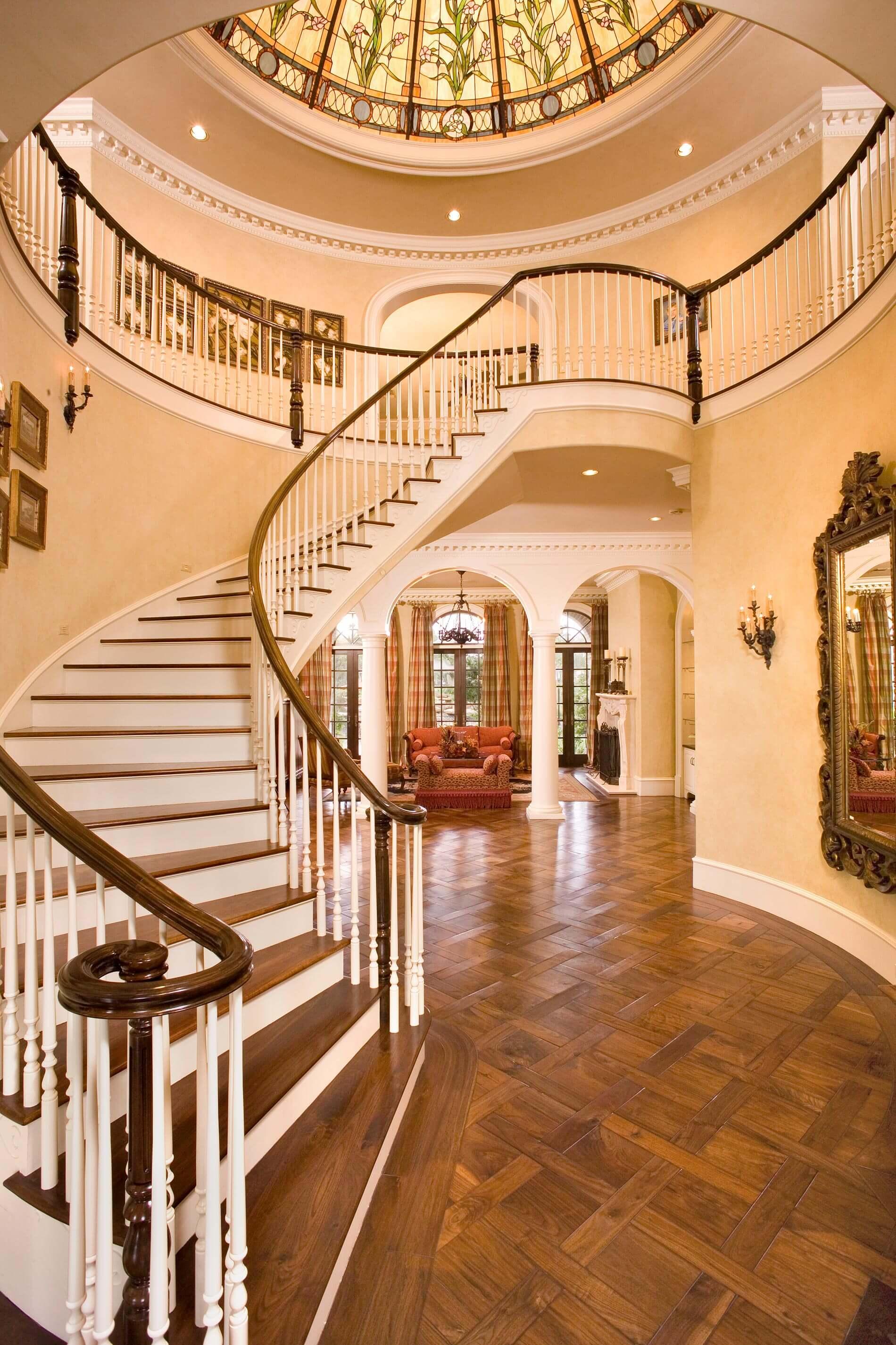 grand manor entrance