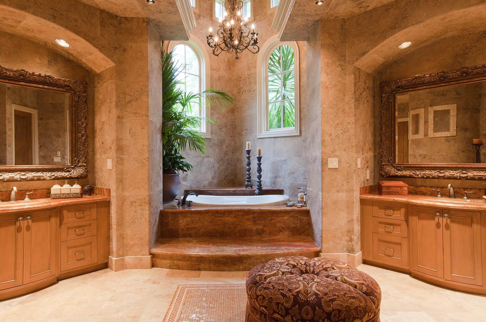 custom built bathroom