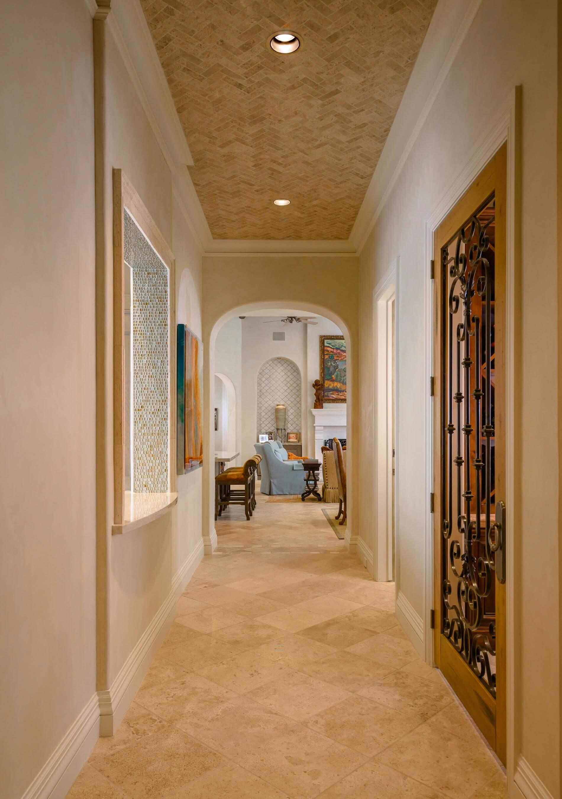 sims custom designed home hallway