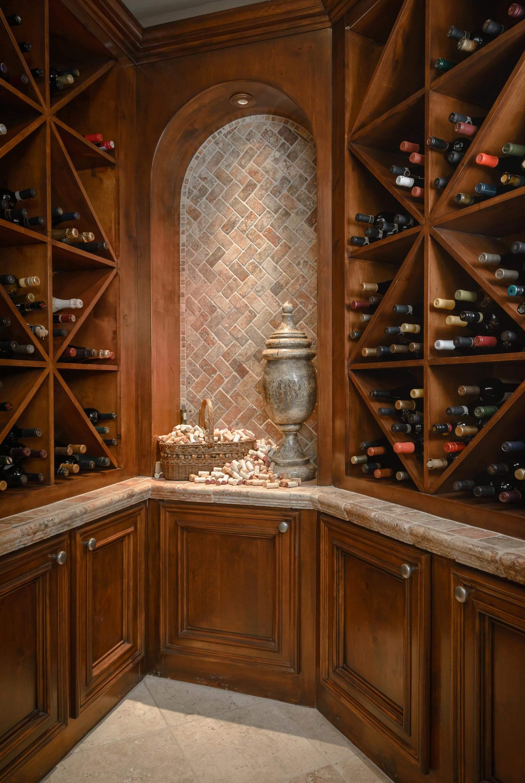 wine cellar luxury home