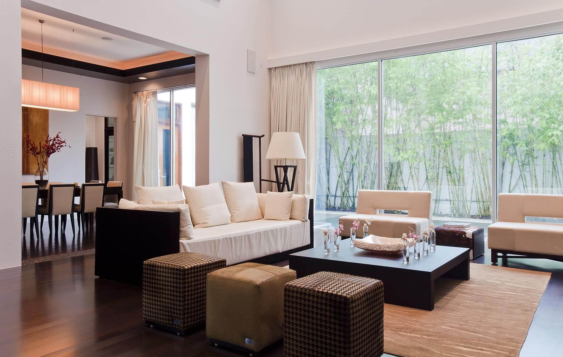 custom contemporary home build
