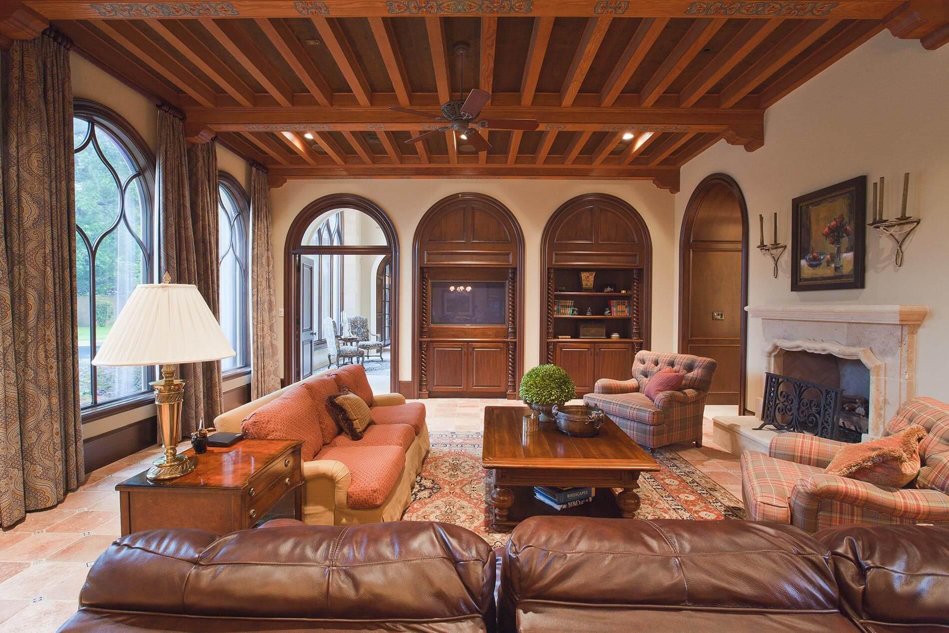 houston cozy living room