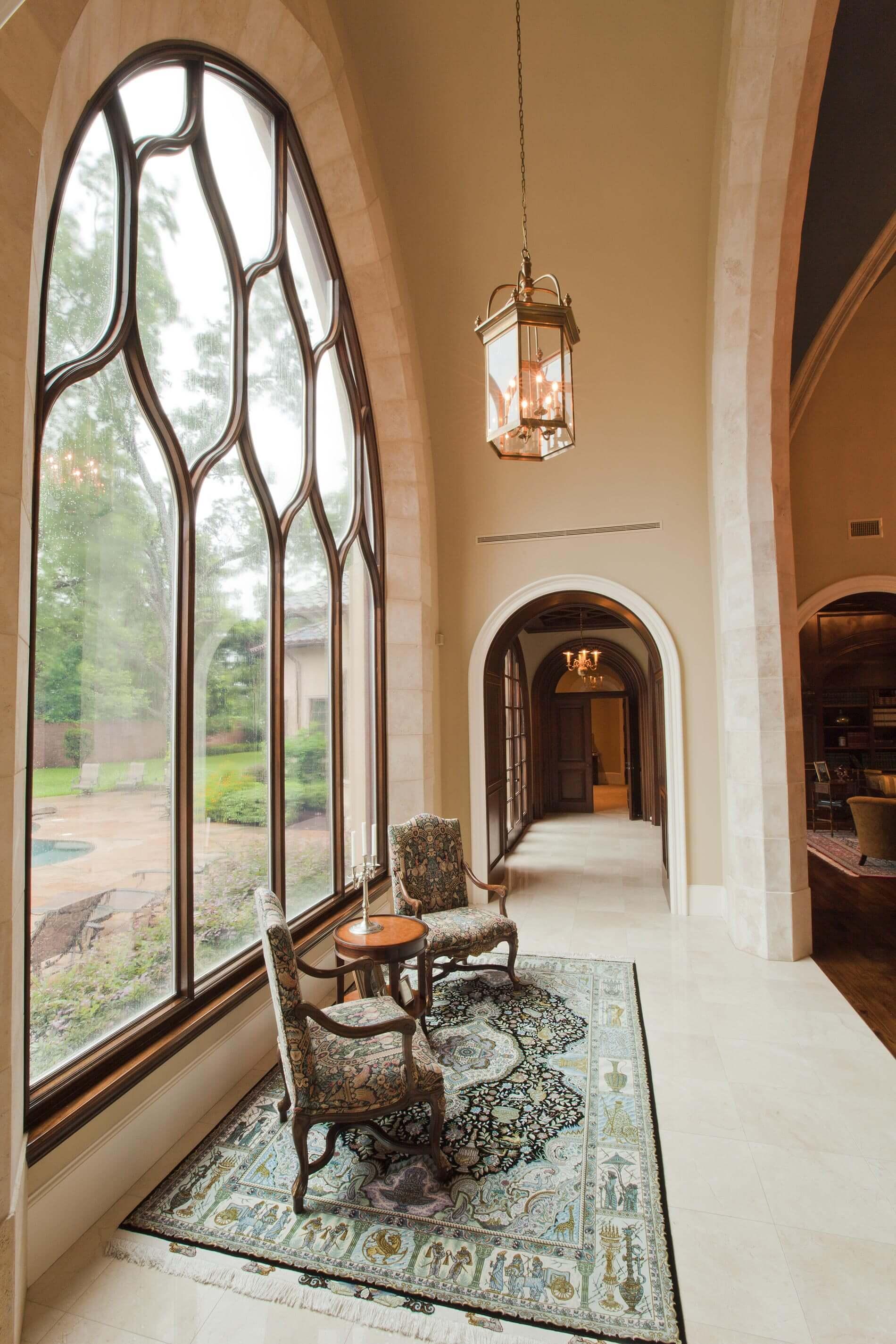 houston custom window in custom home