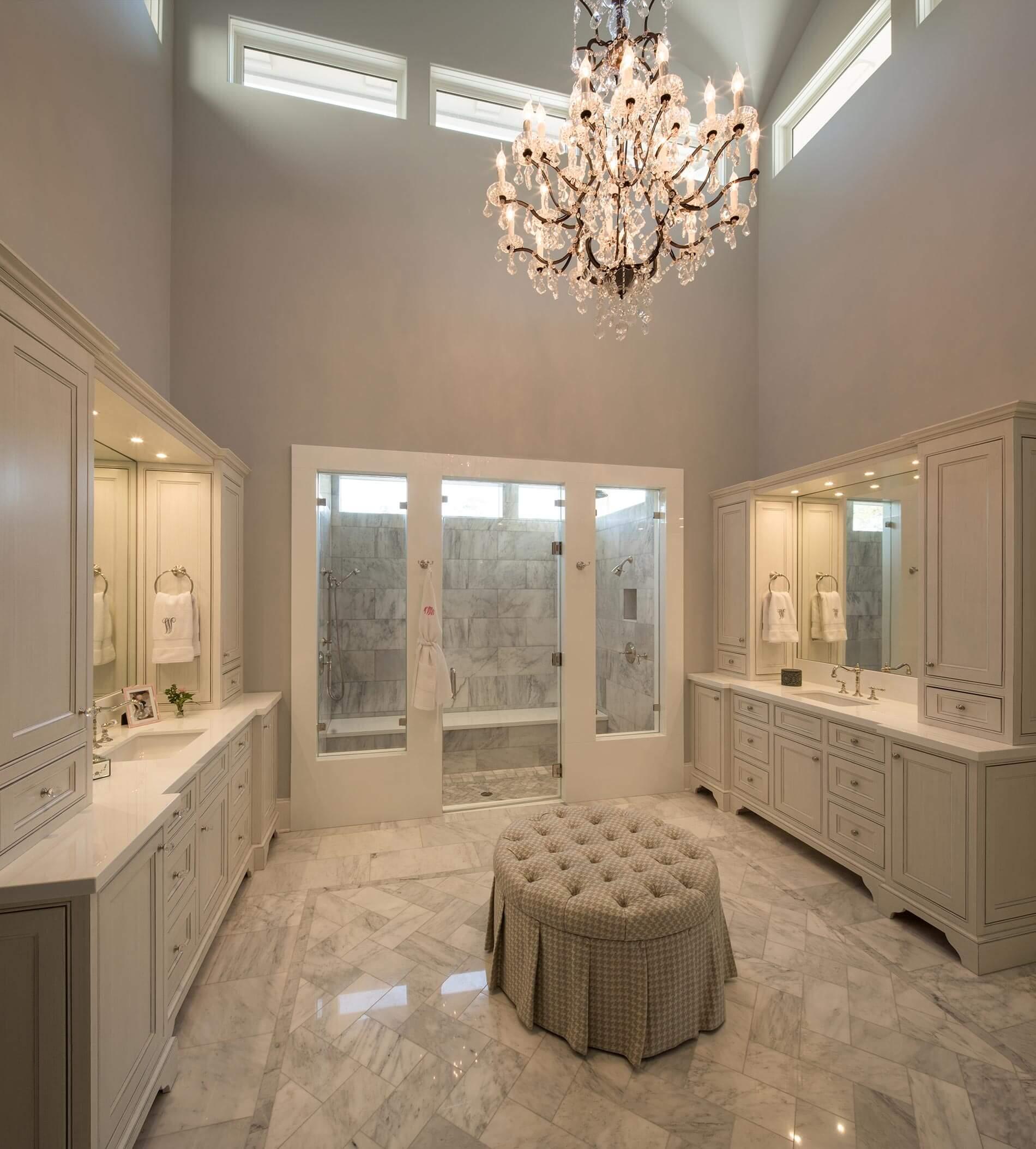 memorial luxury bathroom design
