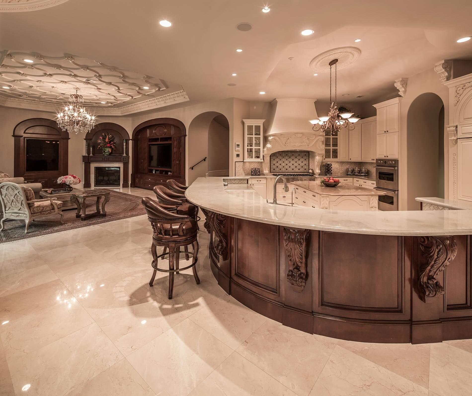Saddlebrook luxury kitchen