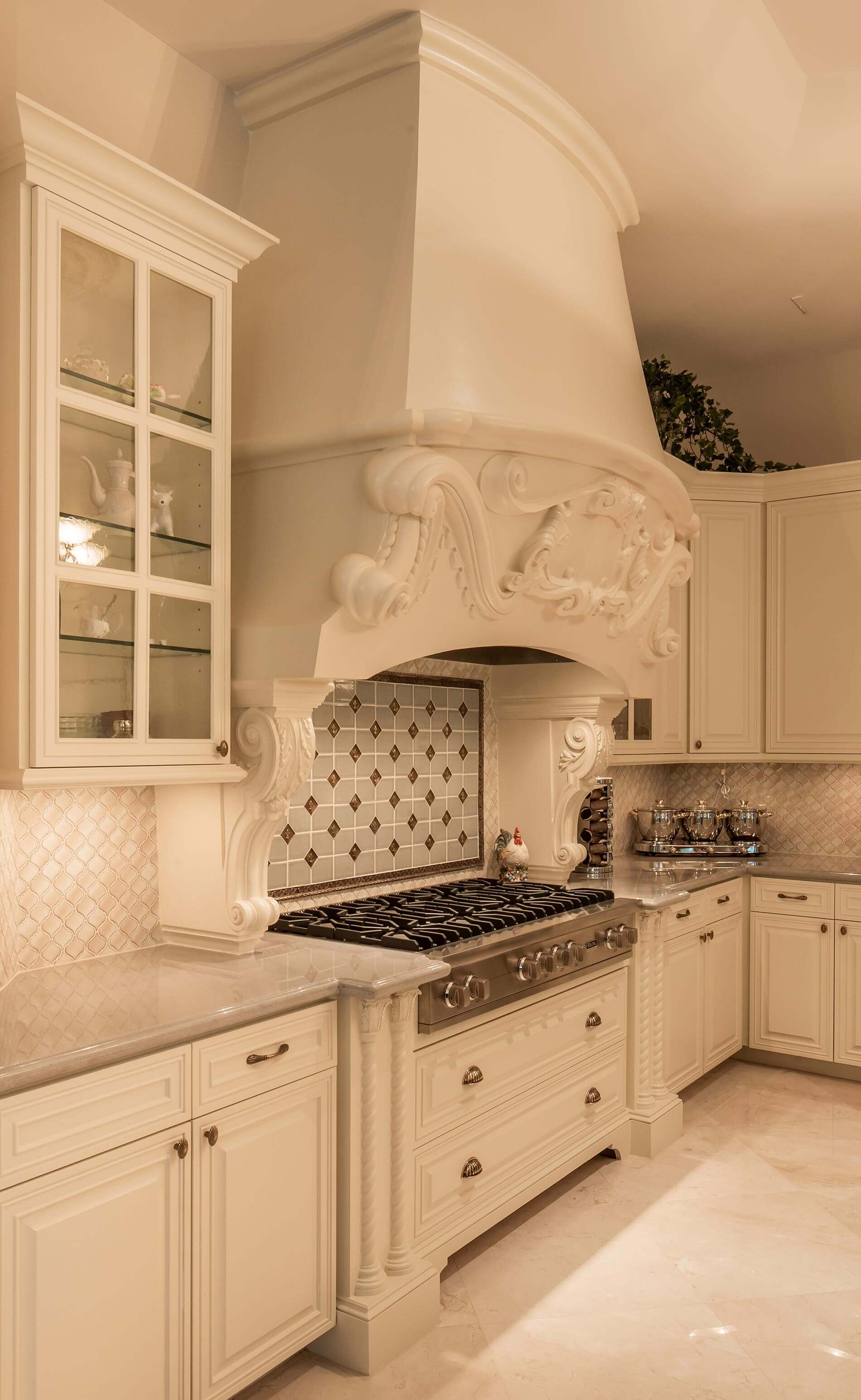 Saddlebrook kitchen custom build houston