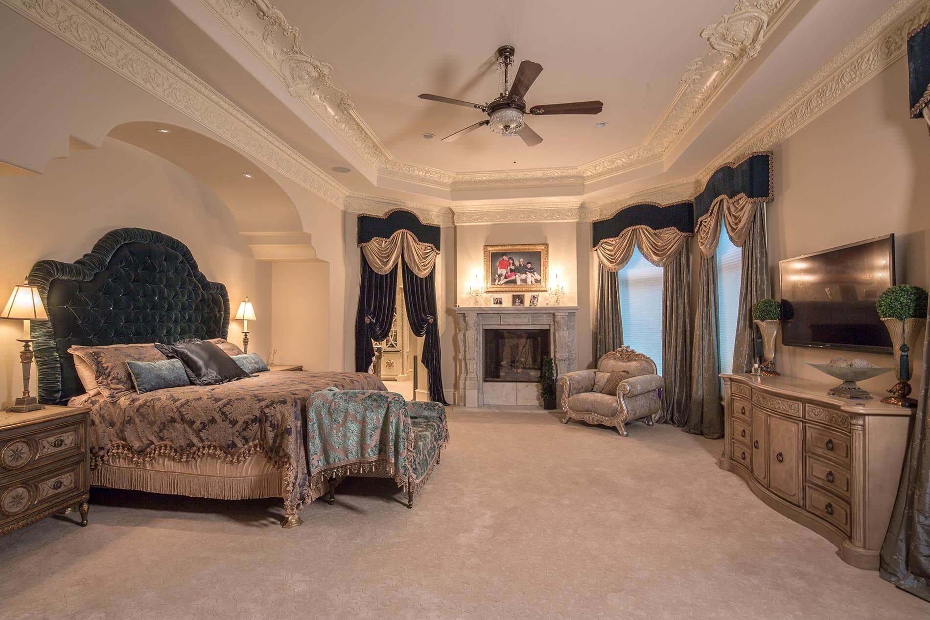houston bedroom traditional