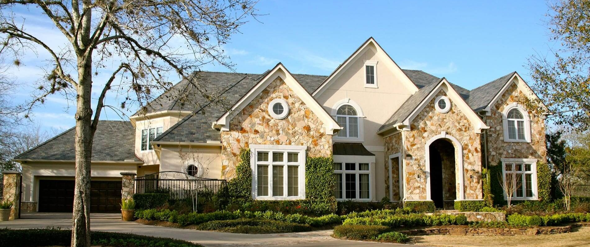 luxury custom built Tudor