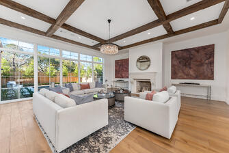 english country manor living room