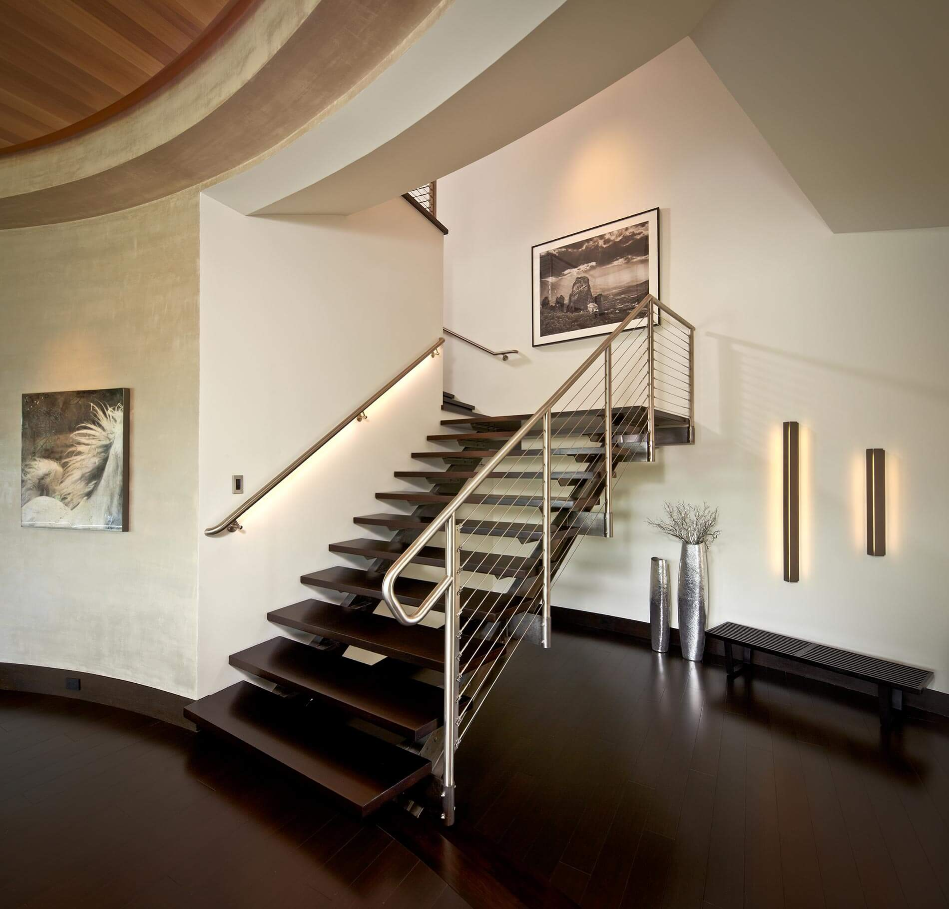 custom stairs modern home