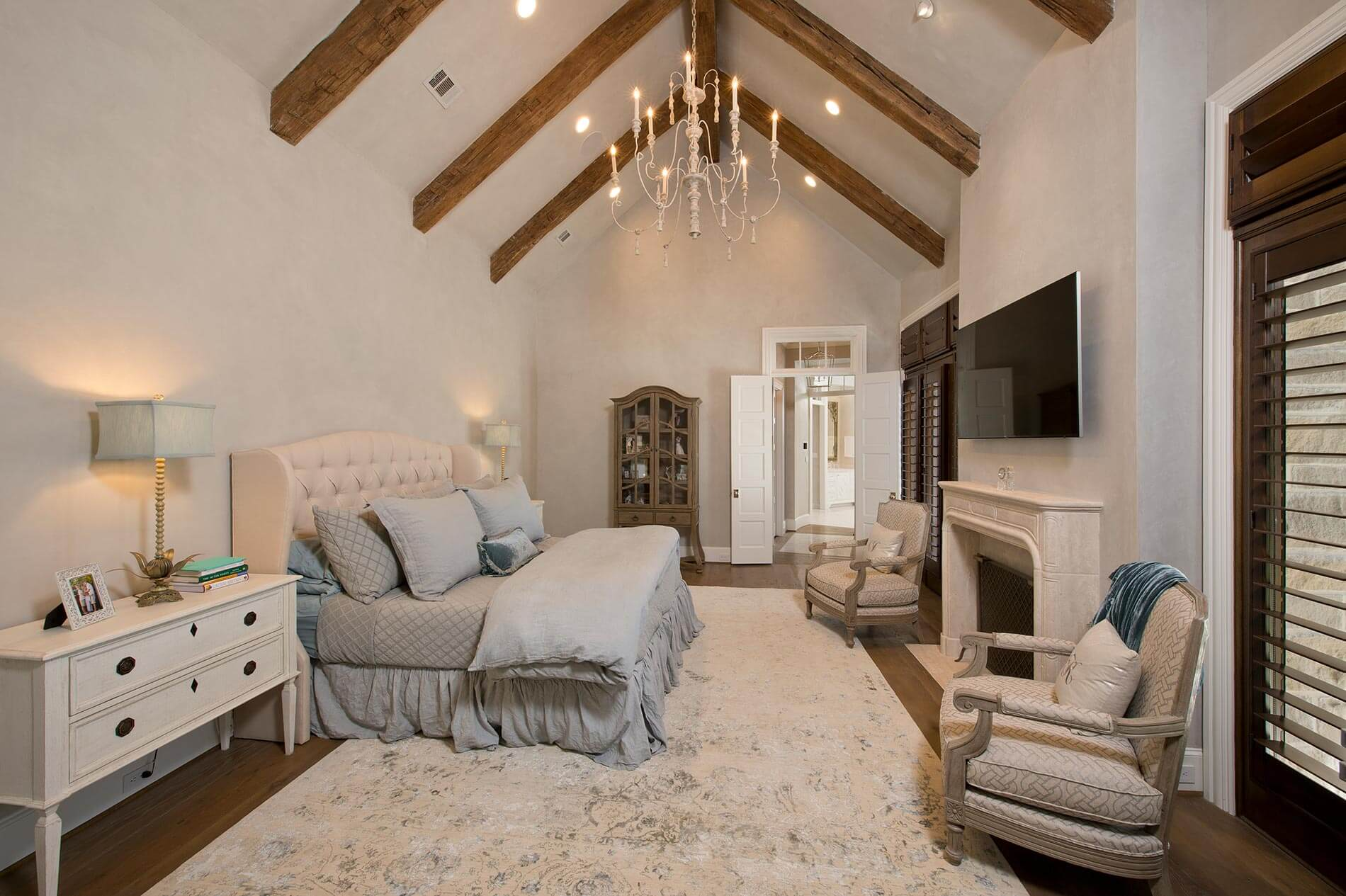 Master bedroom french country