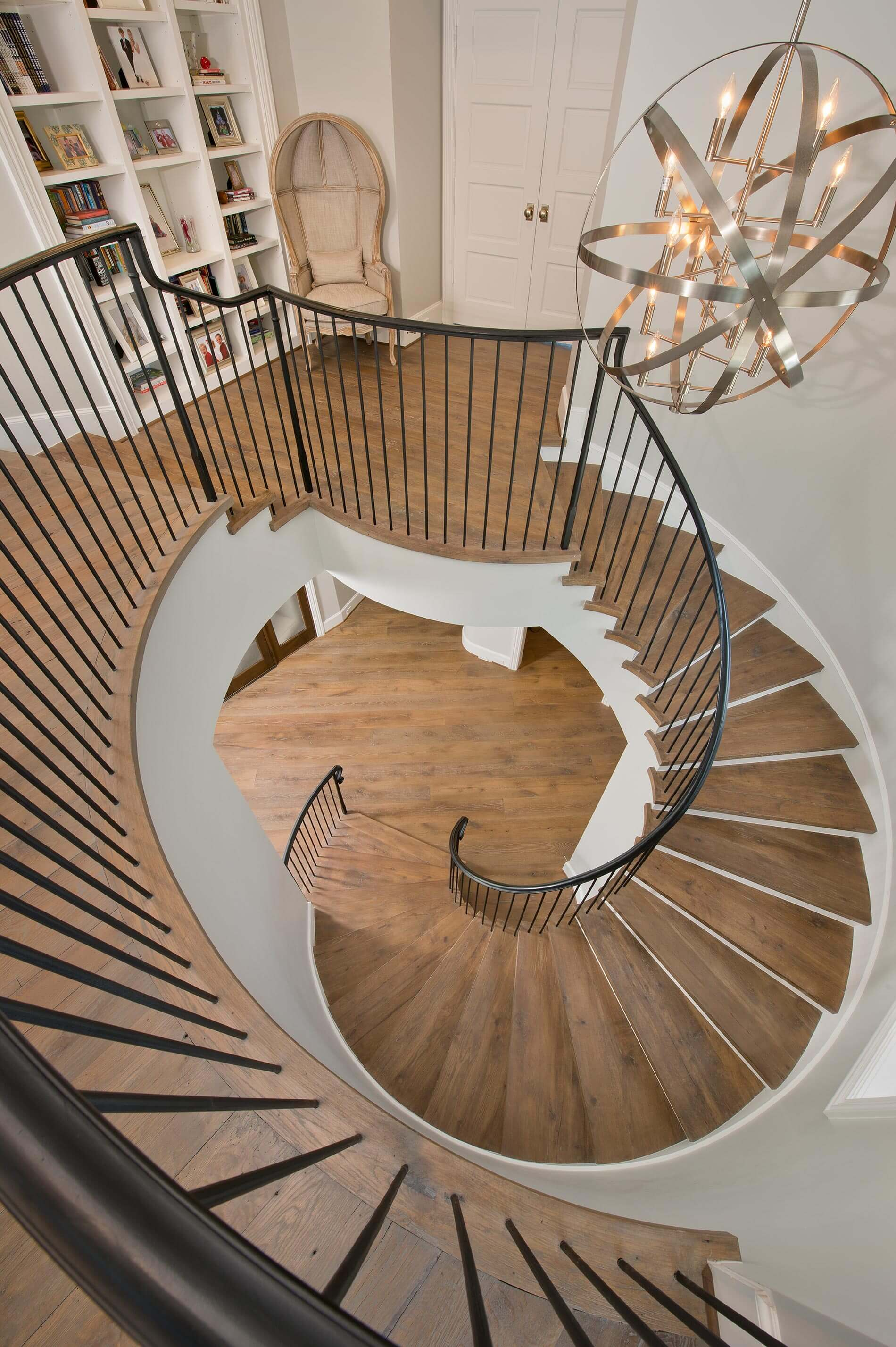 Staircase-back