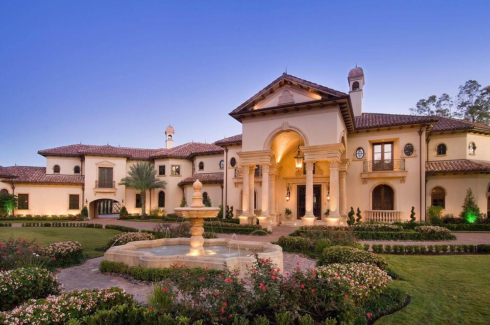 Mediterranean custom home
