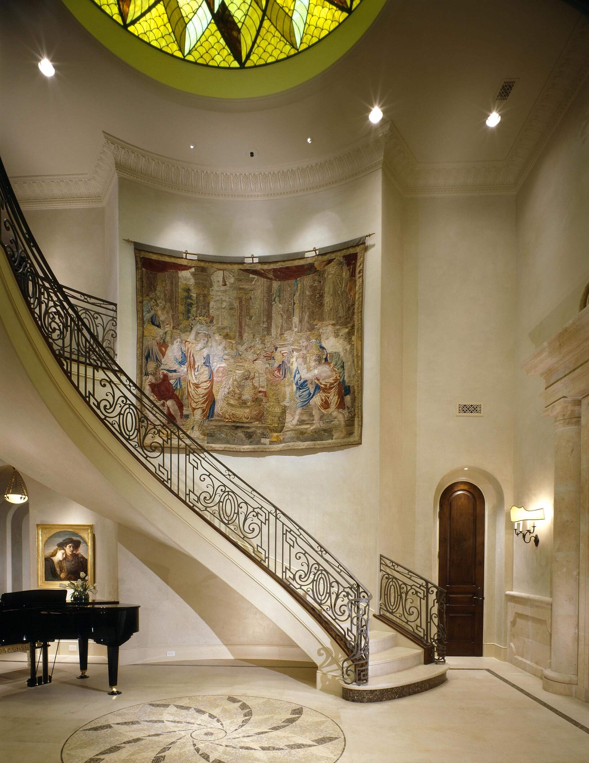 classic entry way