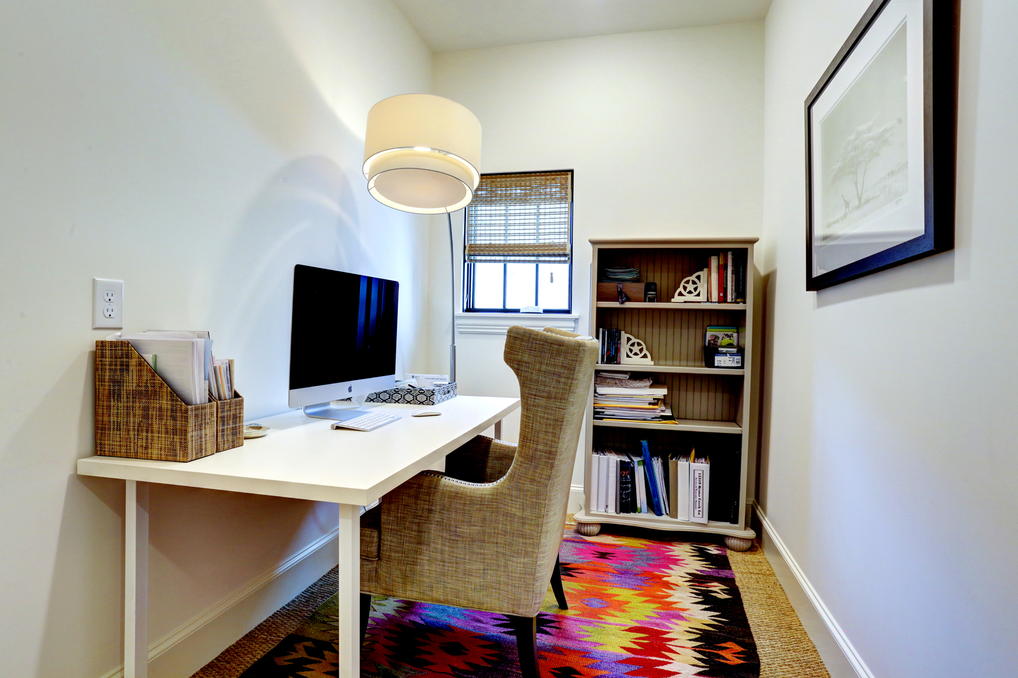 Transitional luxury home office