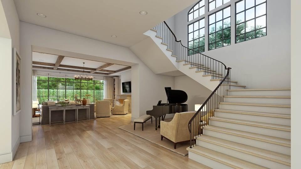 english manor stairs