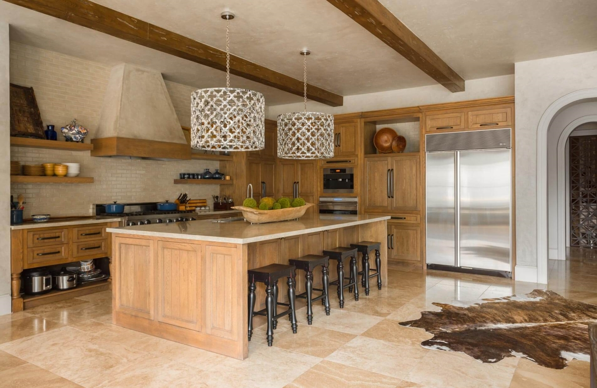 tudor custom kitchen
