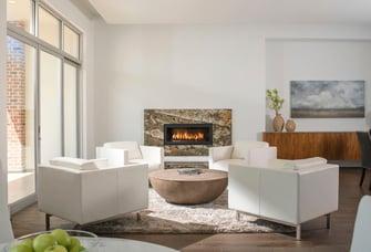 luxury modern townhouse living room