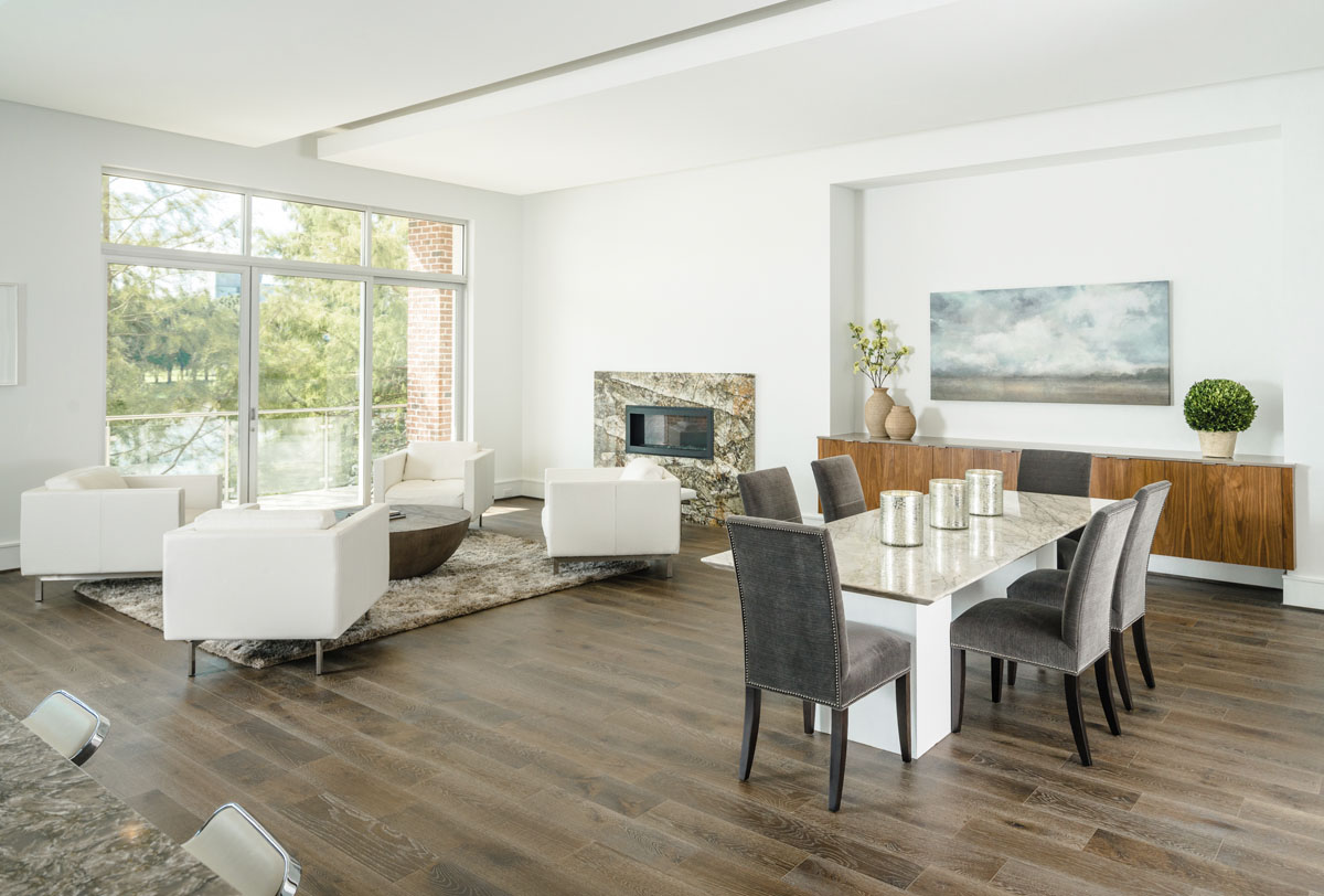 luxury townhome dining area