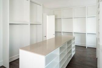 luxury townhome closet room