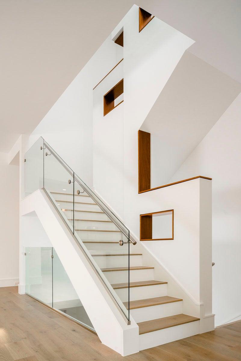 luxury townhome stairway