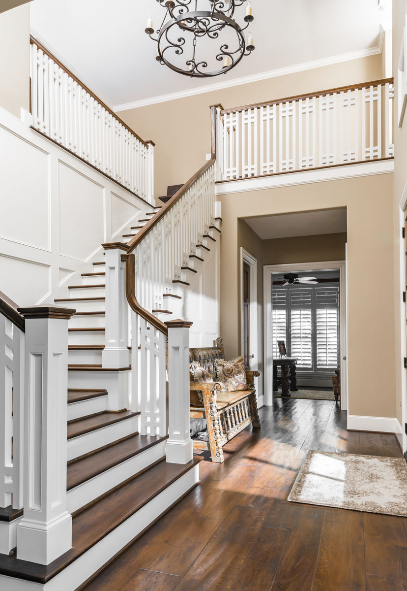 custom english stairway