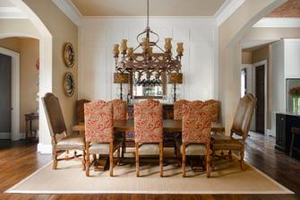 custom english dining room