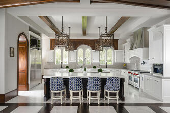 english kitchen custom design