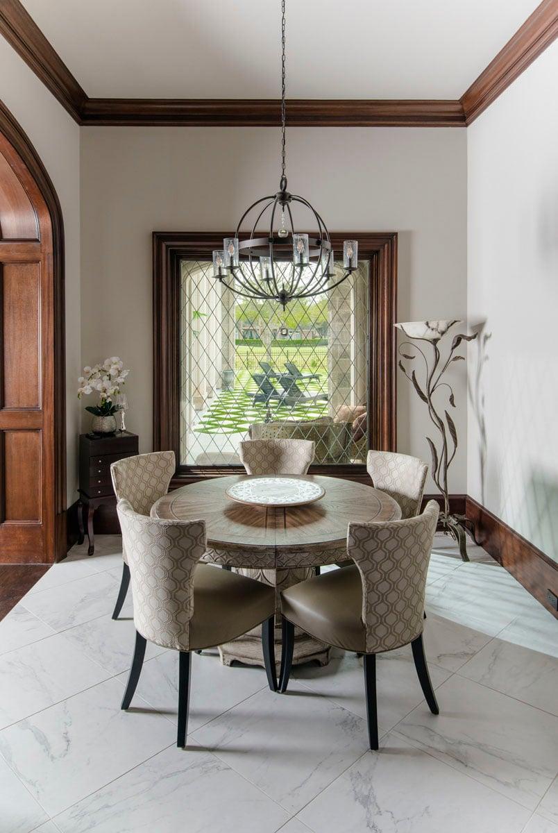 english tudor dining room table