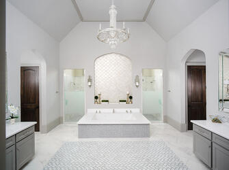 custom bathroom build houston