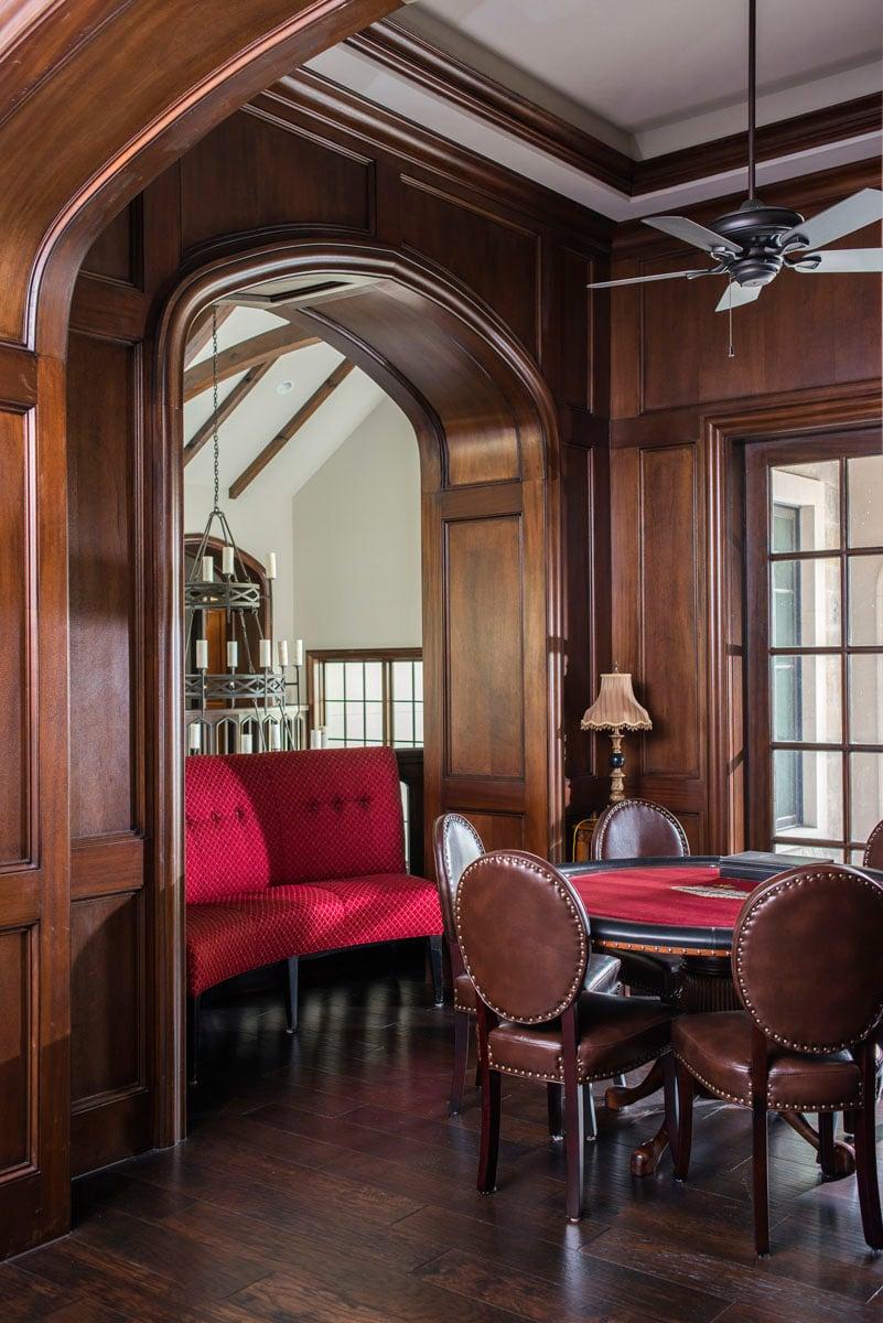 english tudor reading room
