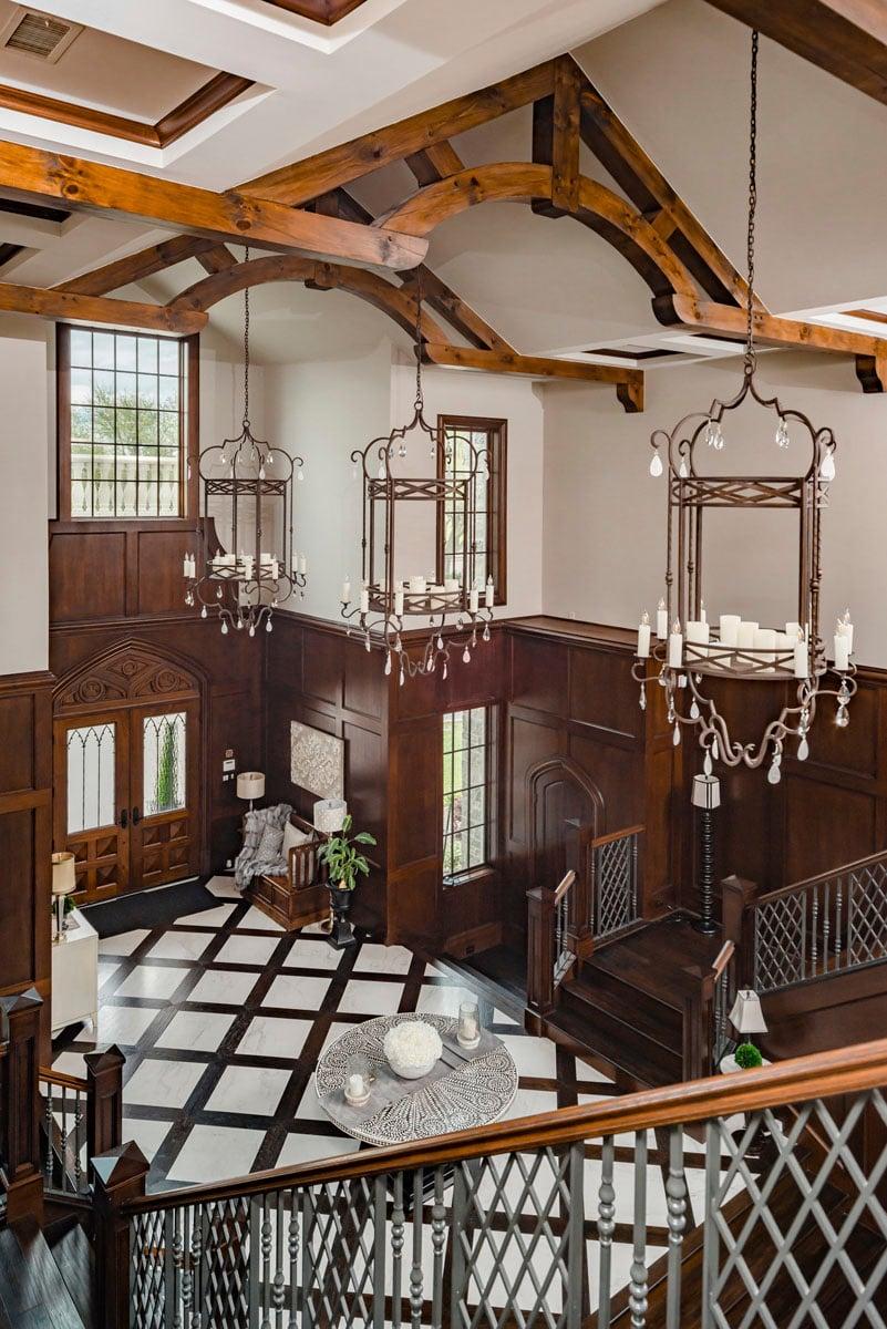 english tudor staircase