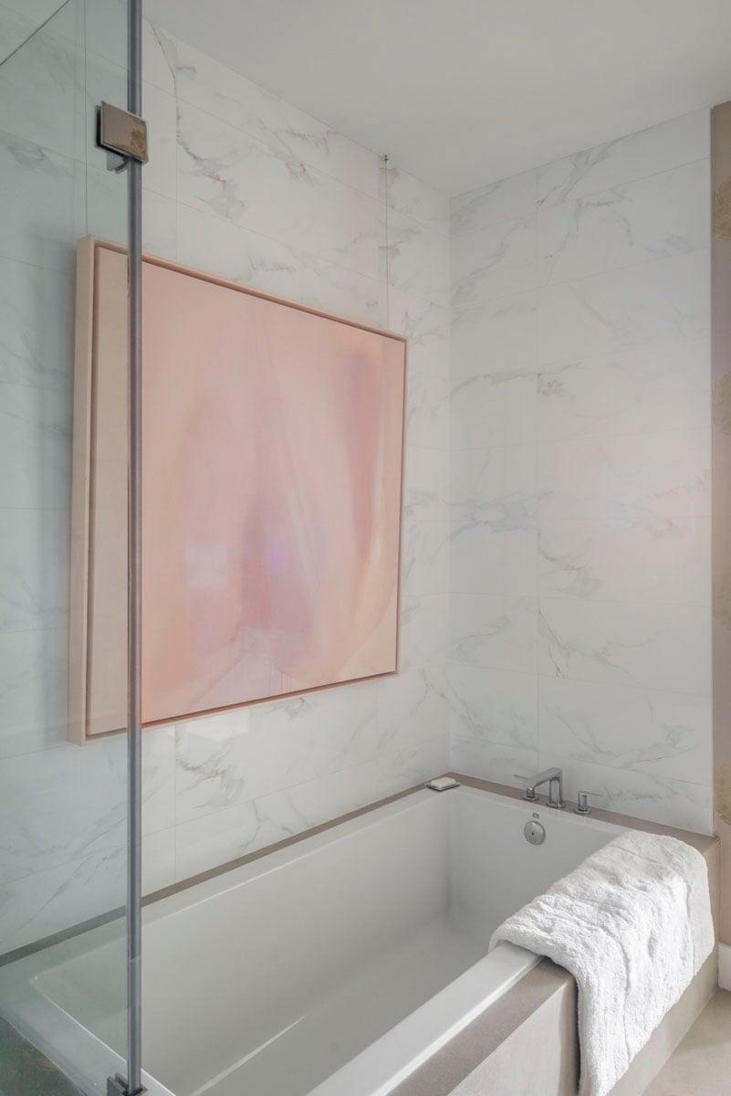 art collector custom condo bathtub