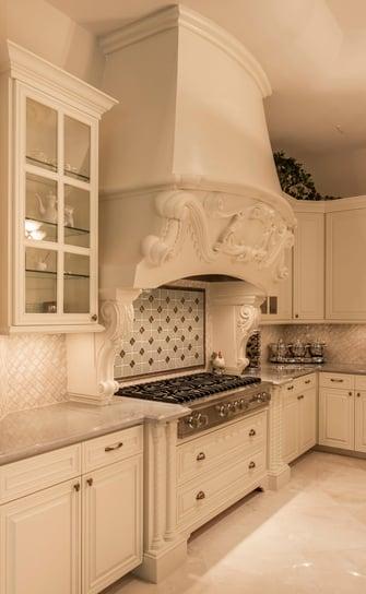 saddlebrook mediterranean kitchen and range hood