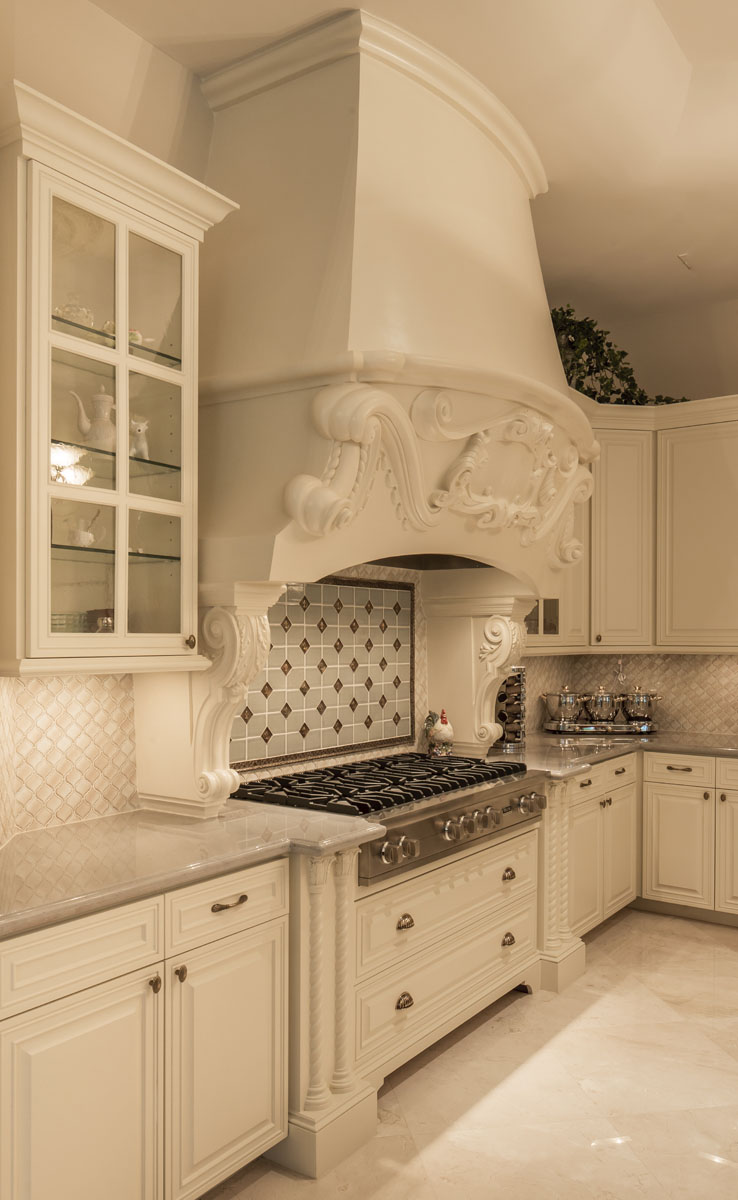 saddlebrook mediterranean kitchen and range hood