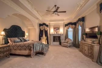 saddlebrook mediterranean bedroom