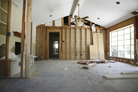 home construction before