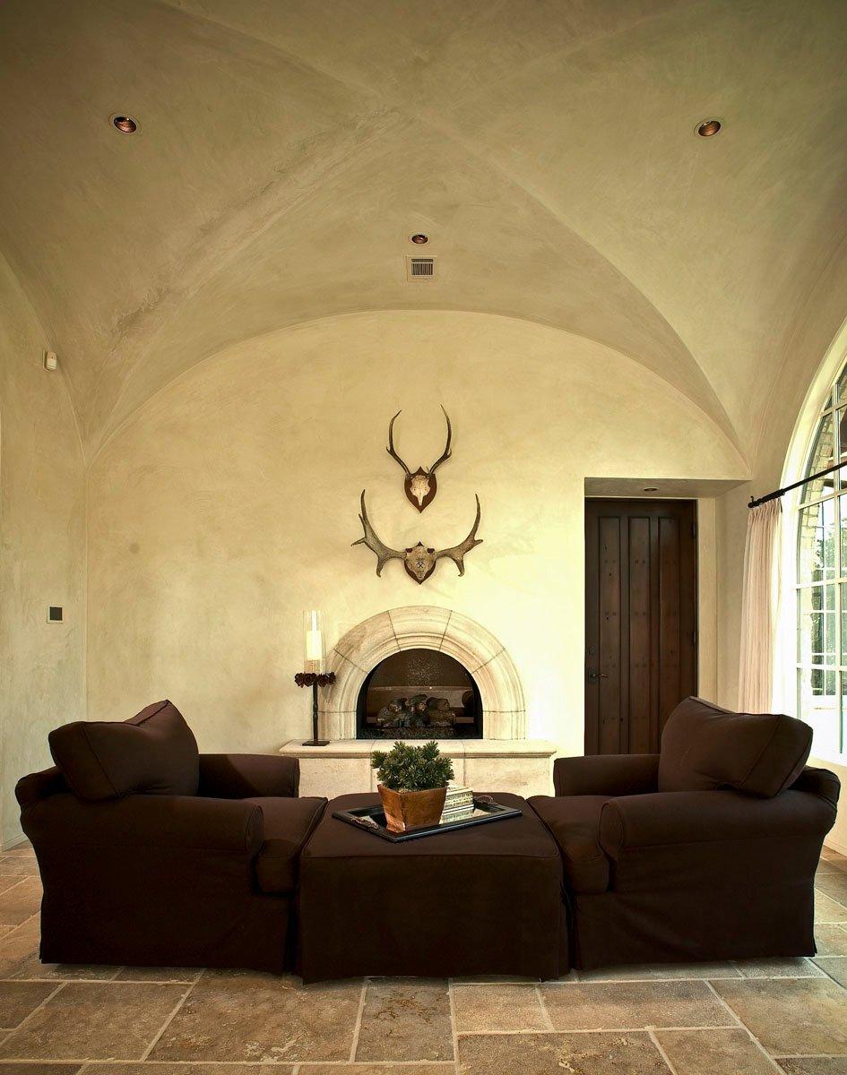 custom tuscan villa den couches