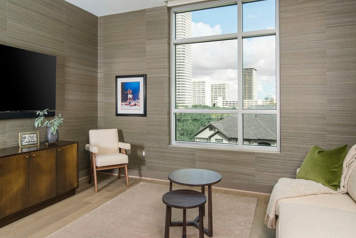 custom modern condo window